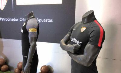 Betfair patrocina al Sevilla FC